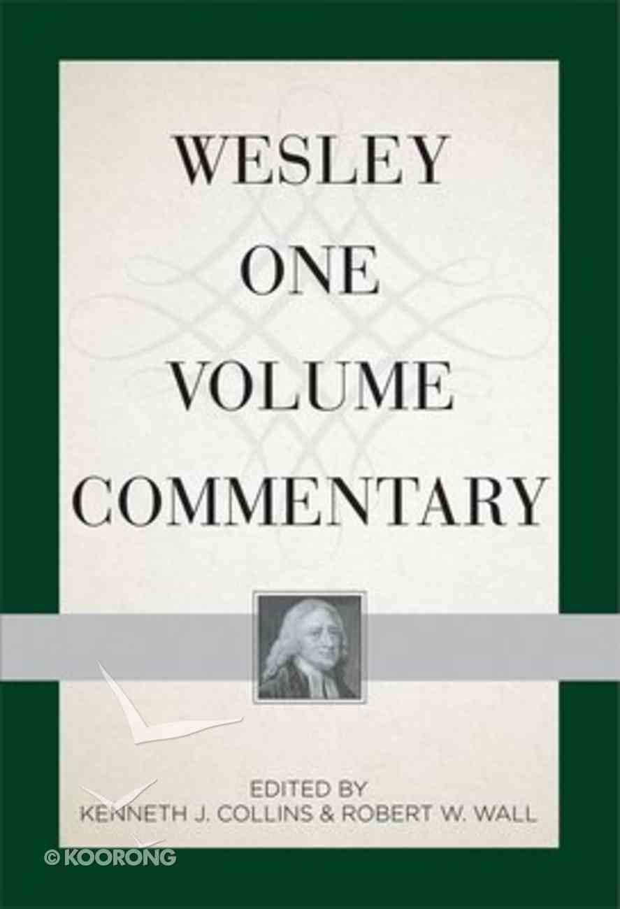 Wesley One Volume Commentary Hardback