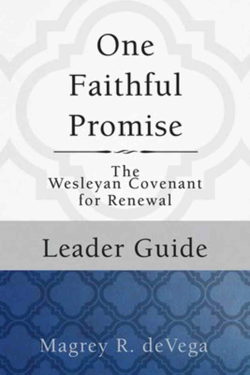 One Faithful Promise (Leader Guide) Paperback