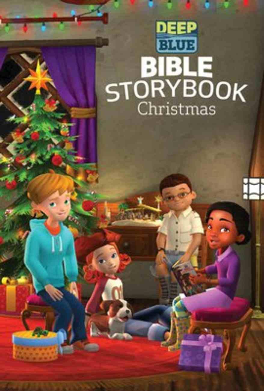 Deep Blue: Bible Storybook Christmas Hardback