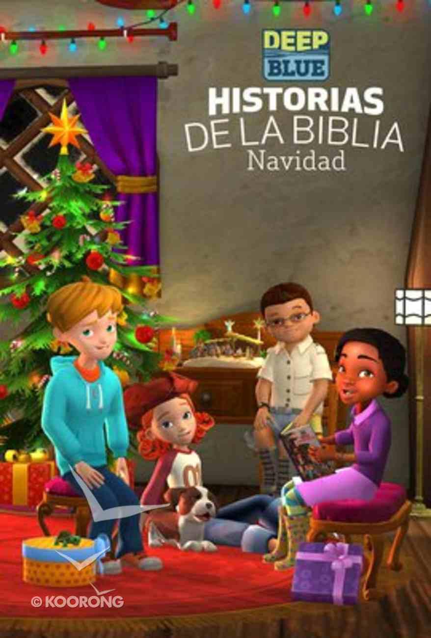 Deep Blue: Historias De La Biblia Navidad (Bible Storybook Christmas) Hardback