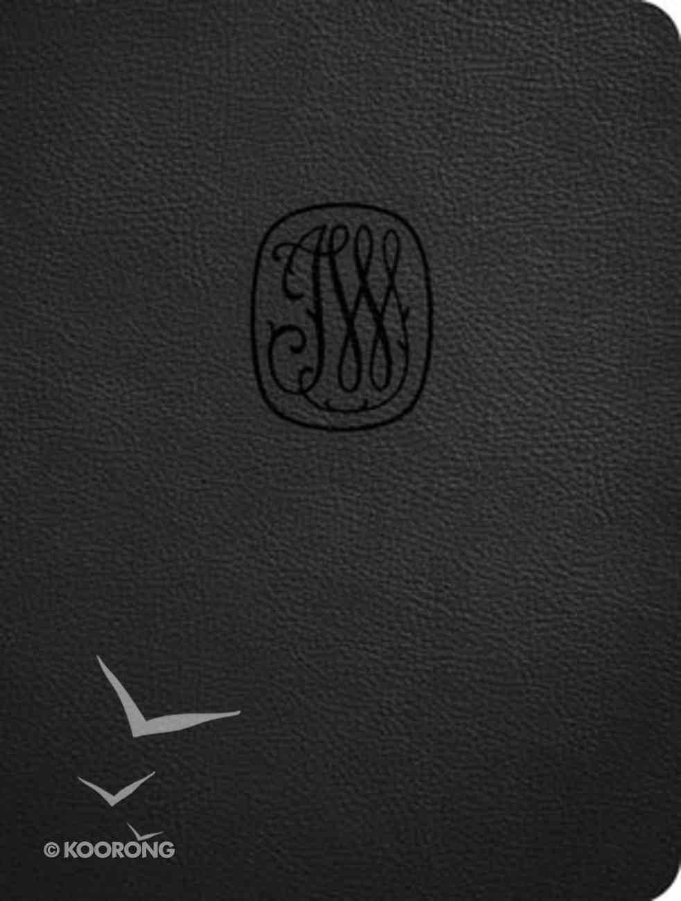 NRSV Wesley Study Bible Charcoal Genuine Leather