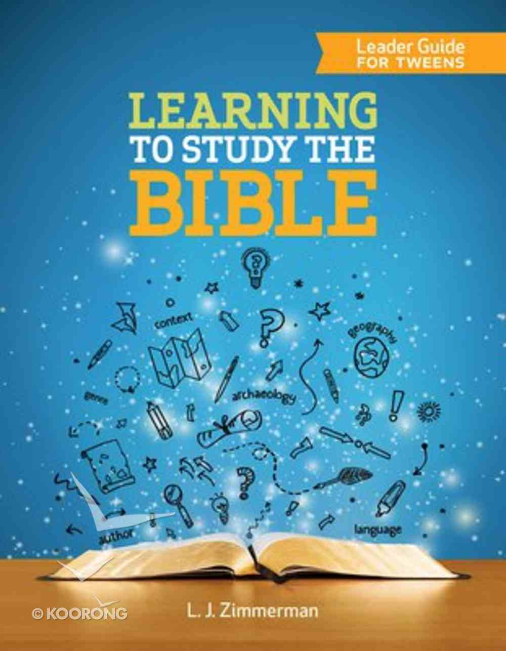 Learning to Study the Bible (Leader Guide) Paperback