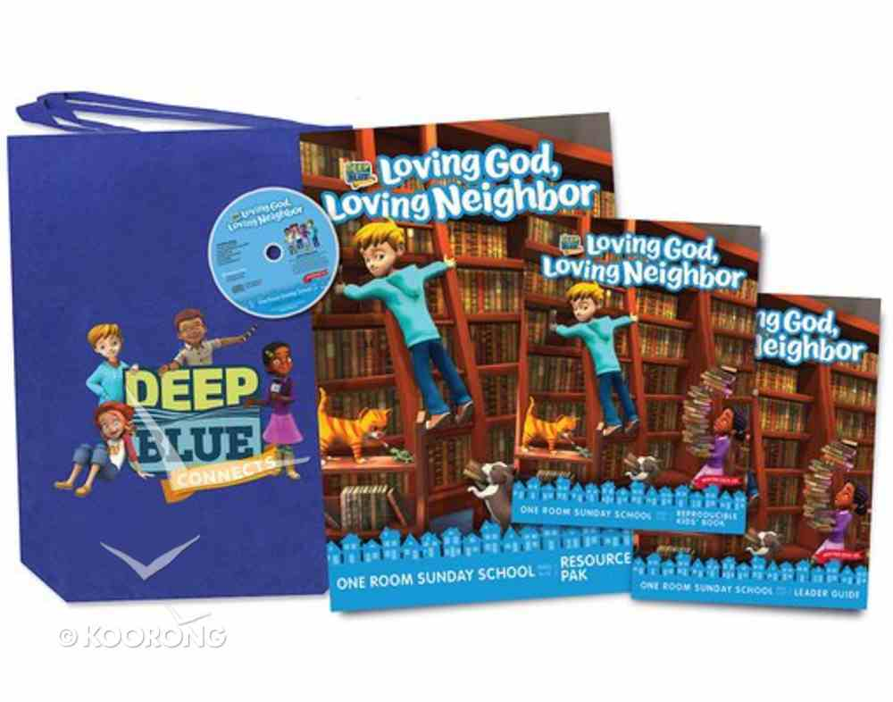 Deep Blue Ages 3-12 (Kit Winter 2019-2020) (One Room Sunday School Series) Pack