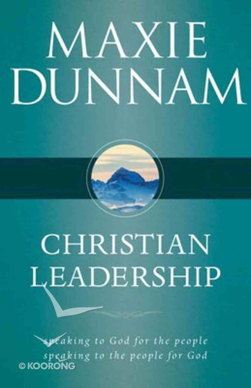 Christian Leadership Paperback