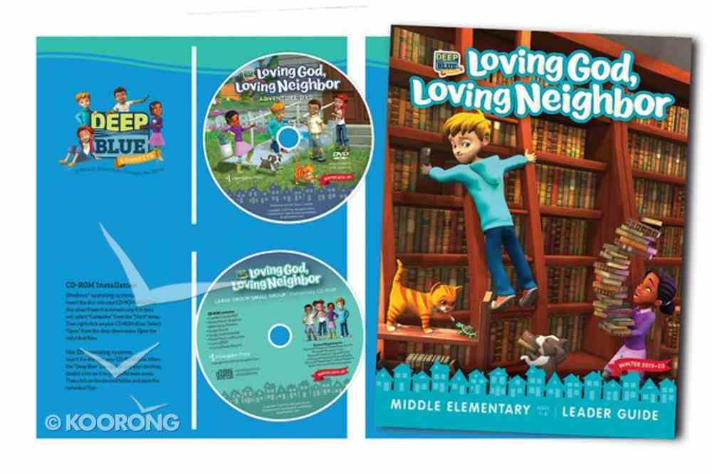 Deep Blue Large Group/Small Group Ages 6+ (Kit Winter 2019-20) (One Room Sunday School Series) Pack