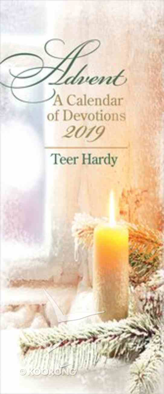 Advent a Calendar of Devotions 2019 (10 Pack) Booklet