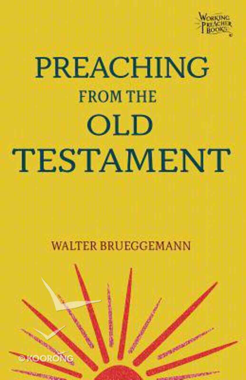 Preaching From the Old Testament Paperback