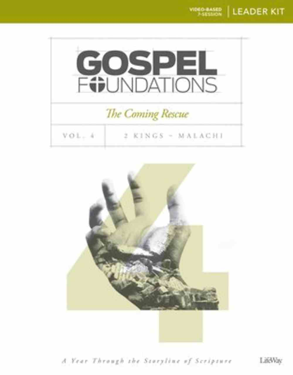 The Coming Rescue (Leader Kit) (#04 in Gospel Foundations Series) Pack
