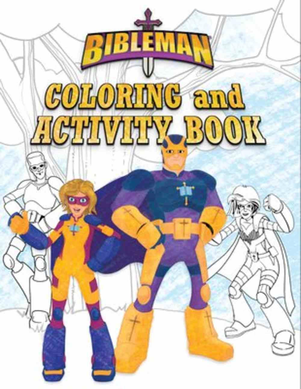 Bibleman Coloring and Activity Book Paperback