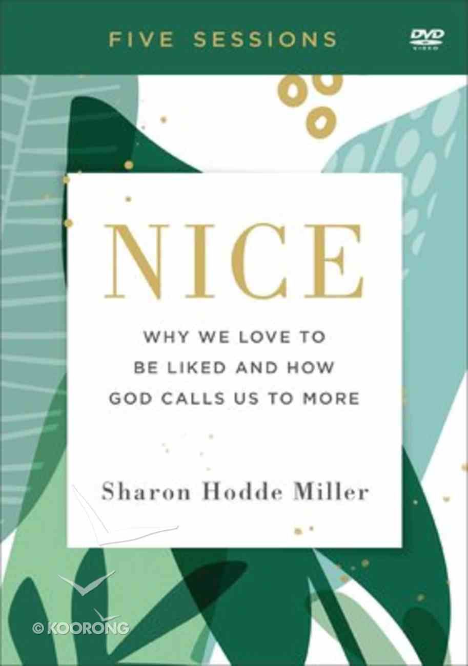Nice: Why We Love to Be Liked and How God Calls Us to More (Dvd) DVD