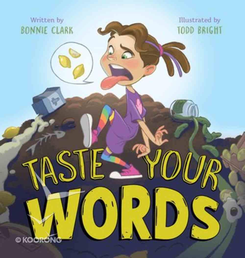 Taste Your Words Hardback