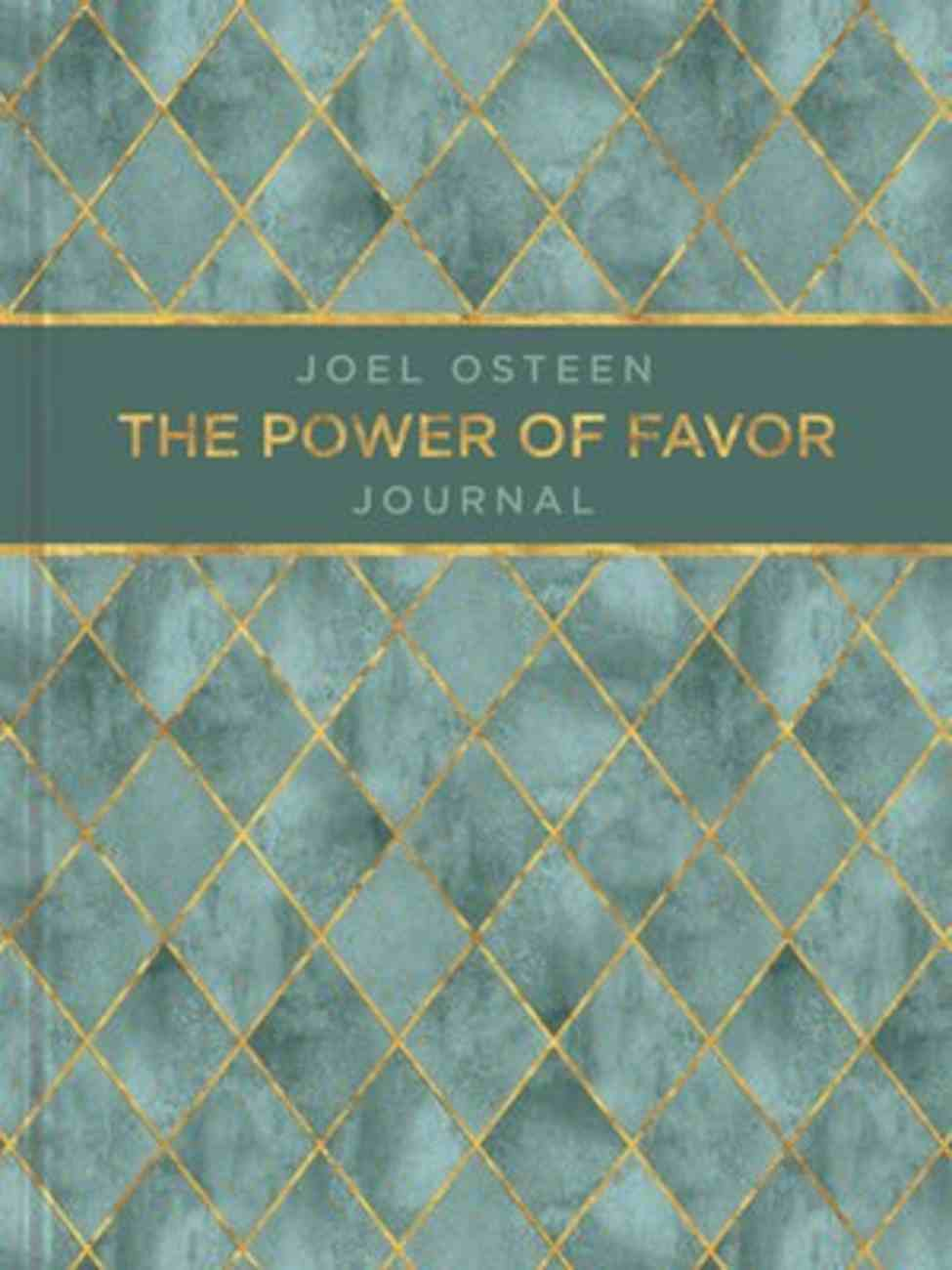 Journal: The Power of Favor Journal Hardback