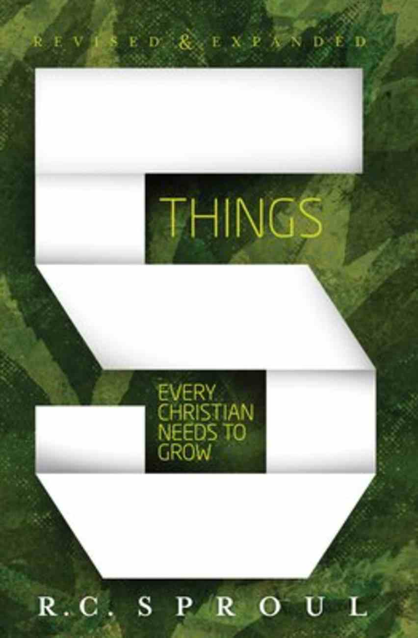 5 Things Every Christian Needs to Grow Hardback