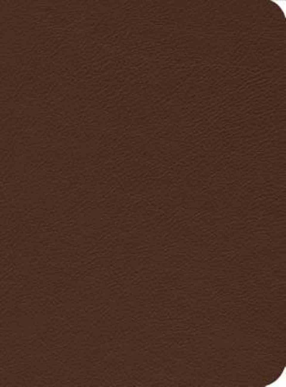 ESV Reformation Study Bible Brown Genuine Leather