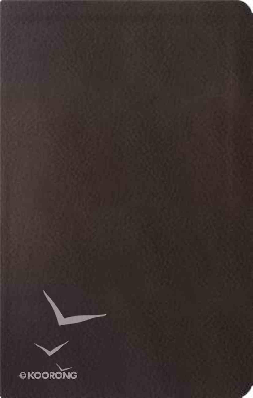 ESV Reformation Study Bible Condensed Edition Dark Brown Genuine Leather