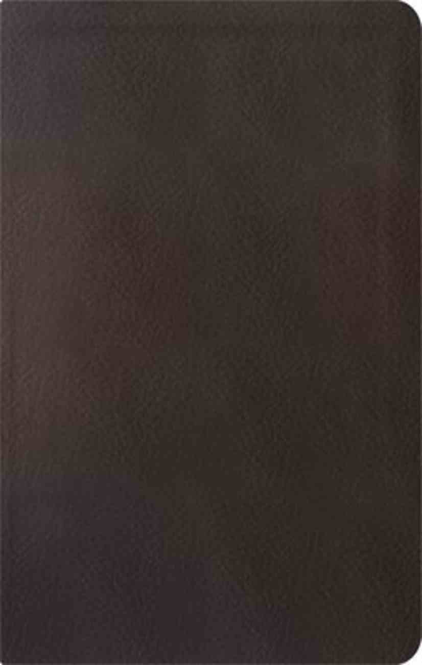 ESV Reformation Study Bible Condensed Edition Dark Brown Genuine Leather