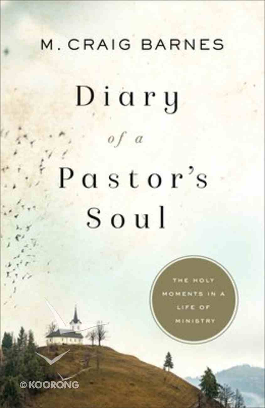 Diary of a Pastor's Soul: The Holy Moments in a Life of Ministry Paperback