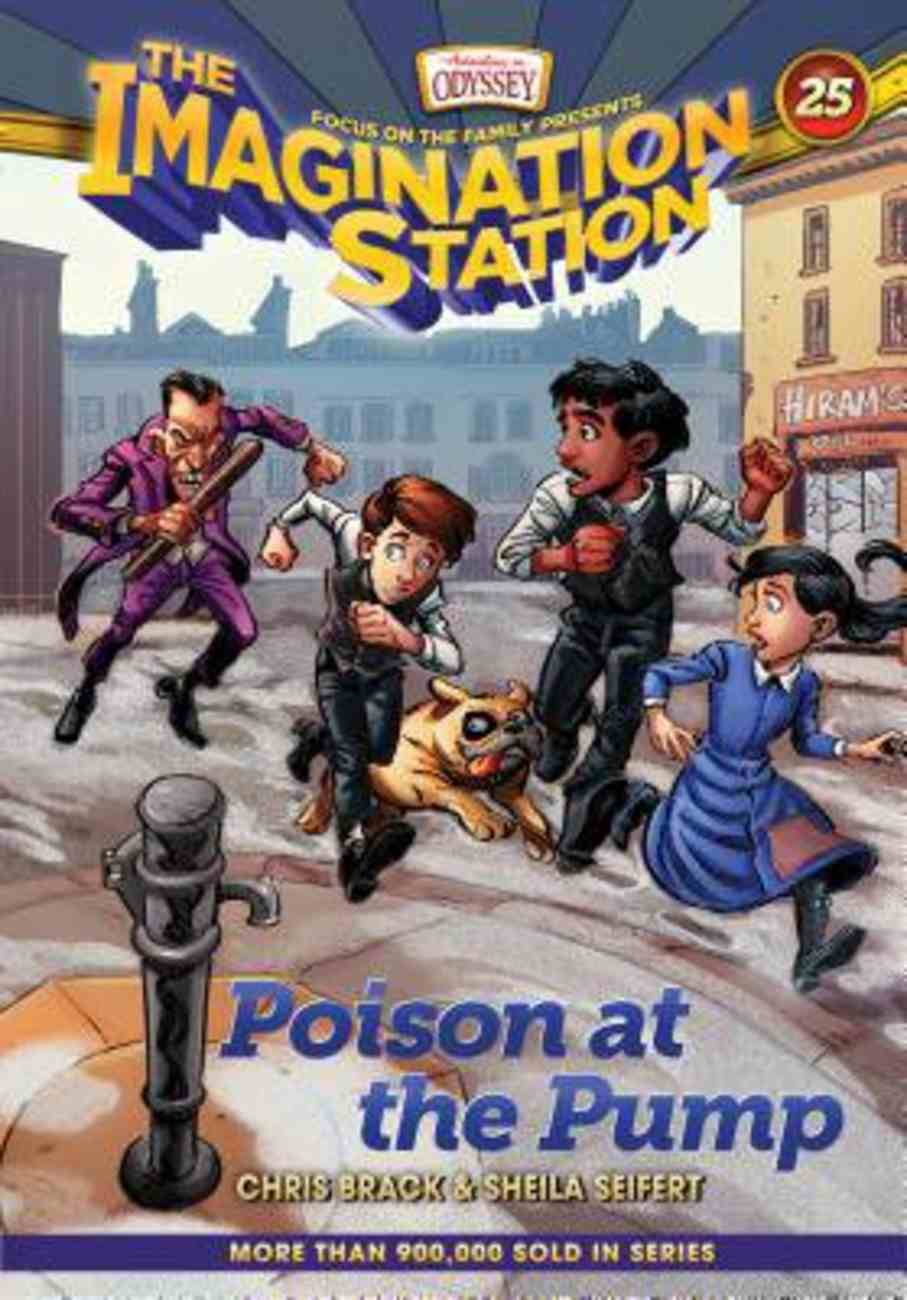 Poison At the Pump (Adventures In Odyssey Imagination Station (Aio) Series) Hardback