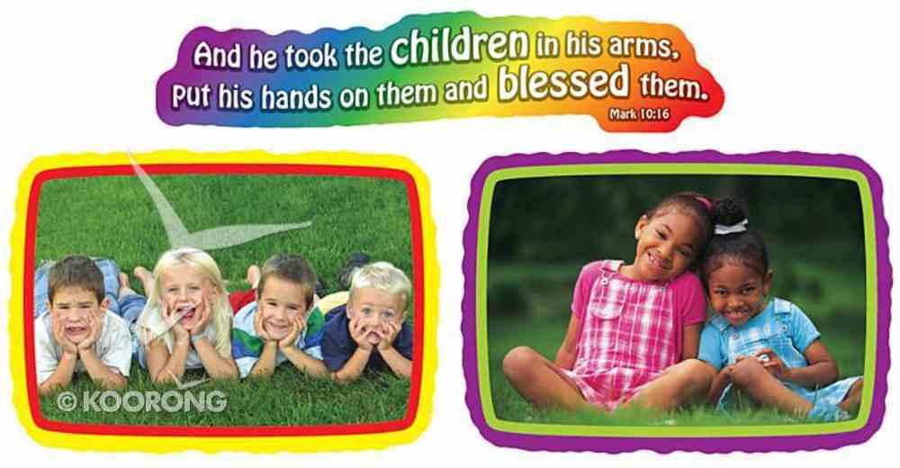 Mini Bulletin Board Set: Jesus Loves the Children Pack