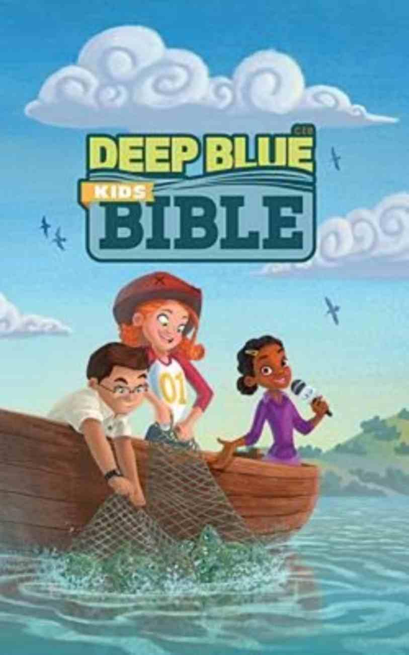 Ceb Deep Blue Kids Bible Bright Sky Hardback
