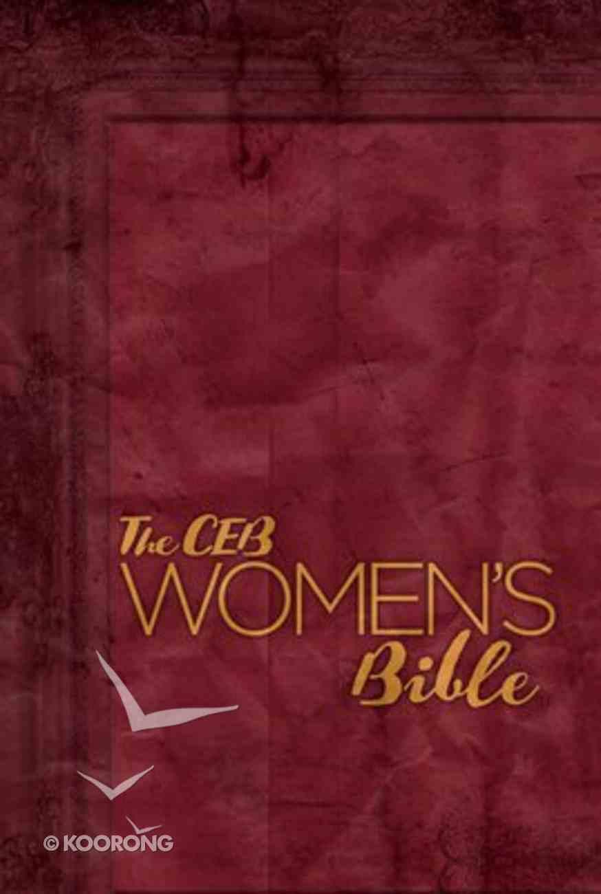Ceb Women's Bible Hardcover Hardback