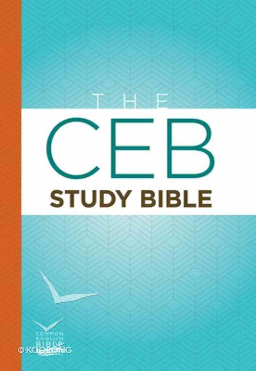Ceb Study Bible Hardback