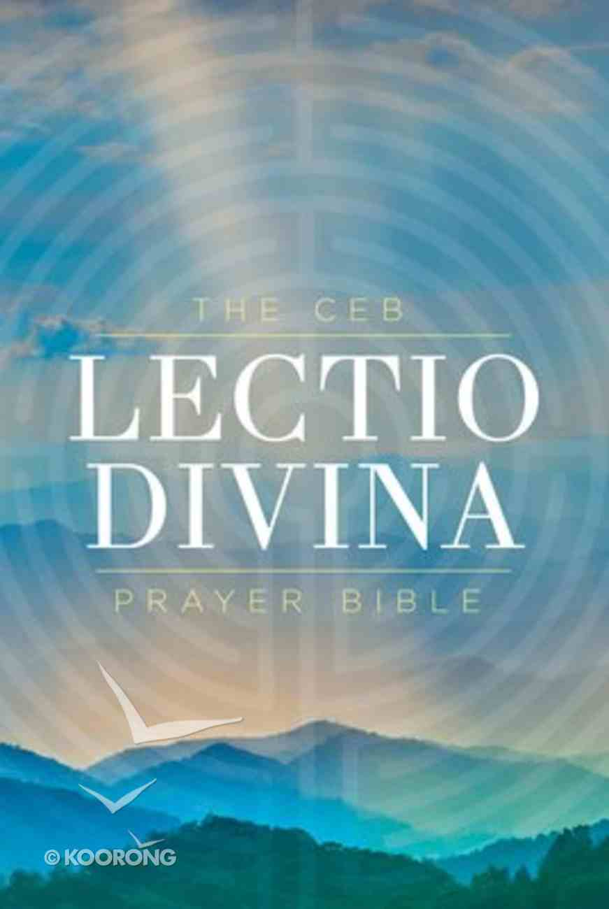 Ceb Lectio Divina Prayer Bible Hardback