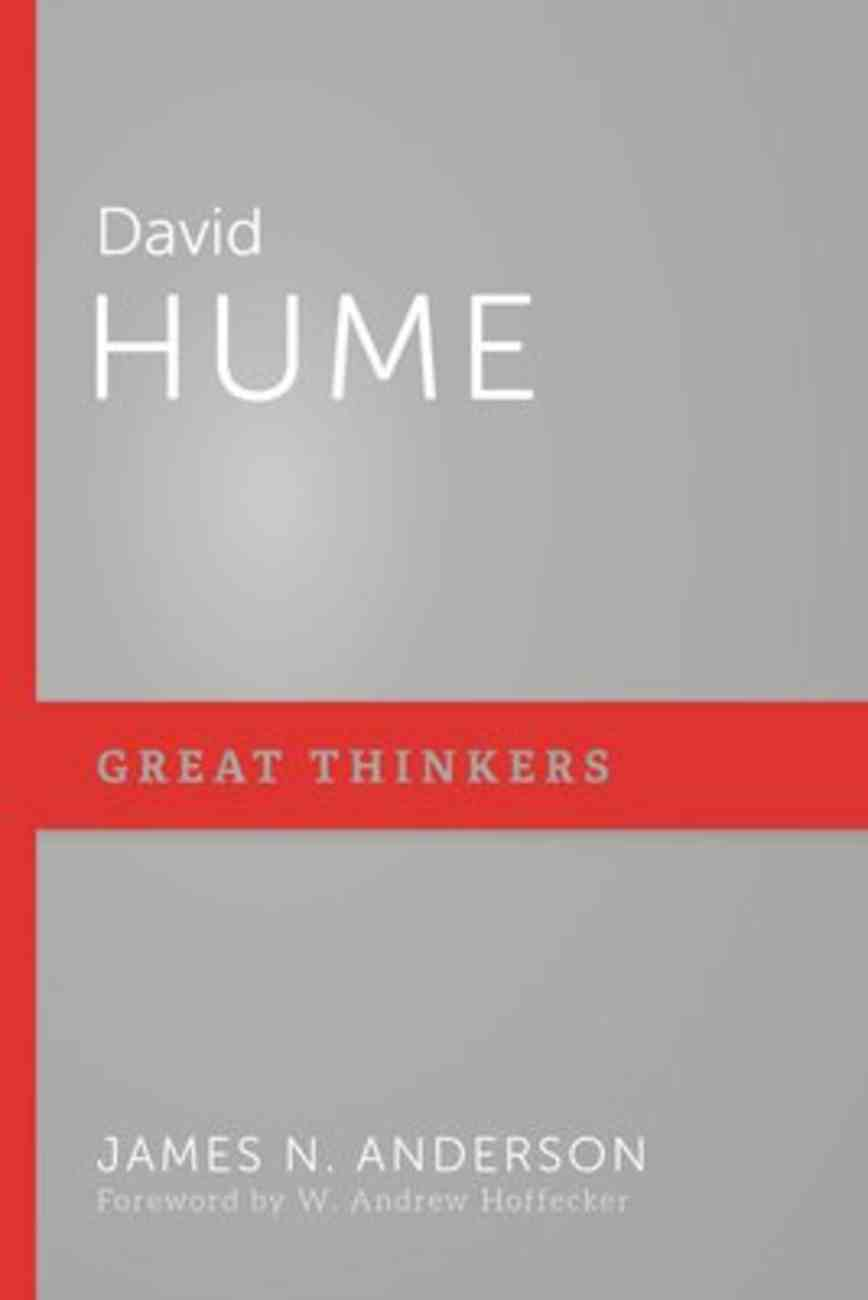 David Hume (Great Thinkers Series) Paperback