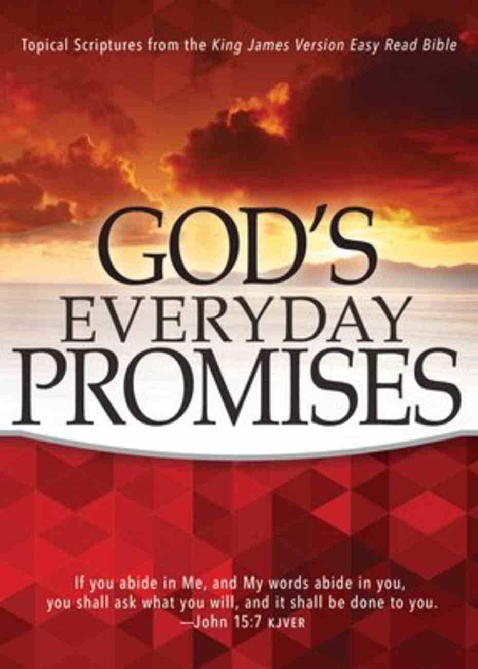 God's Everyday Promises (Kjver) Paperback