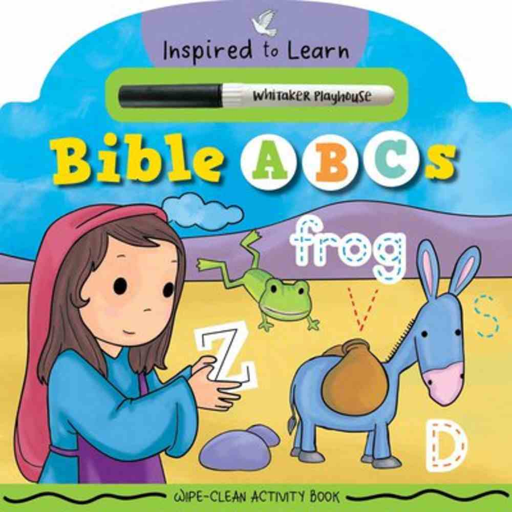 Bible Abc's: Wipe-Clean Activity Book Board Book