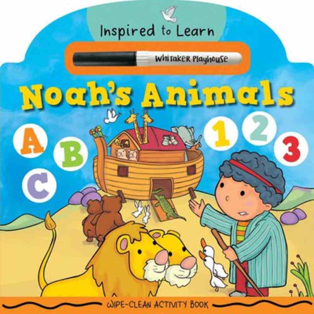 Noah's Animals: Wipe-Clean Activity Book Board Book