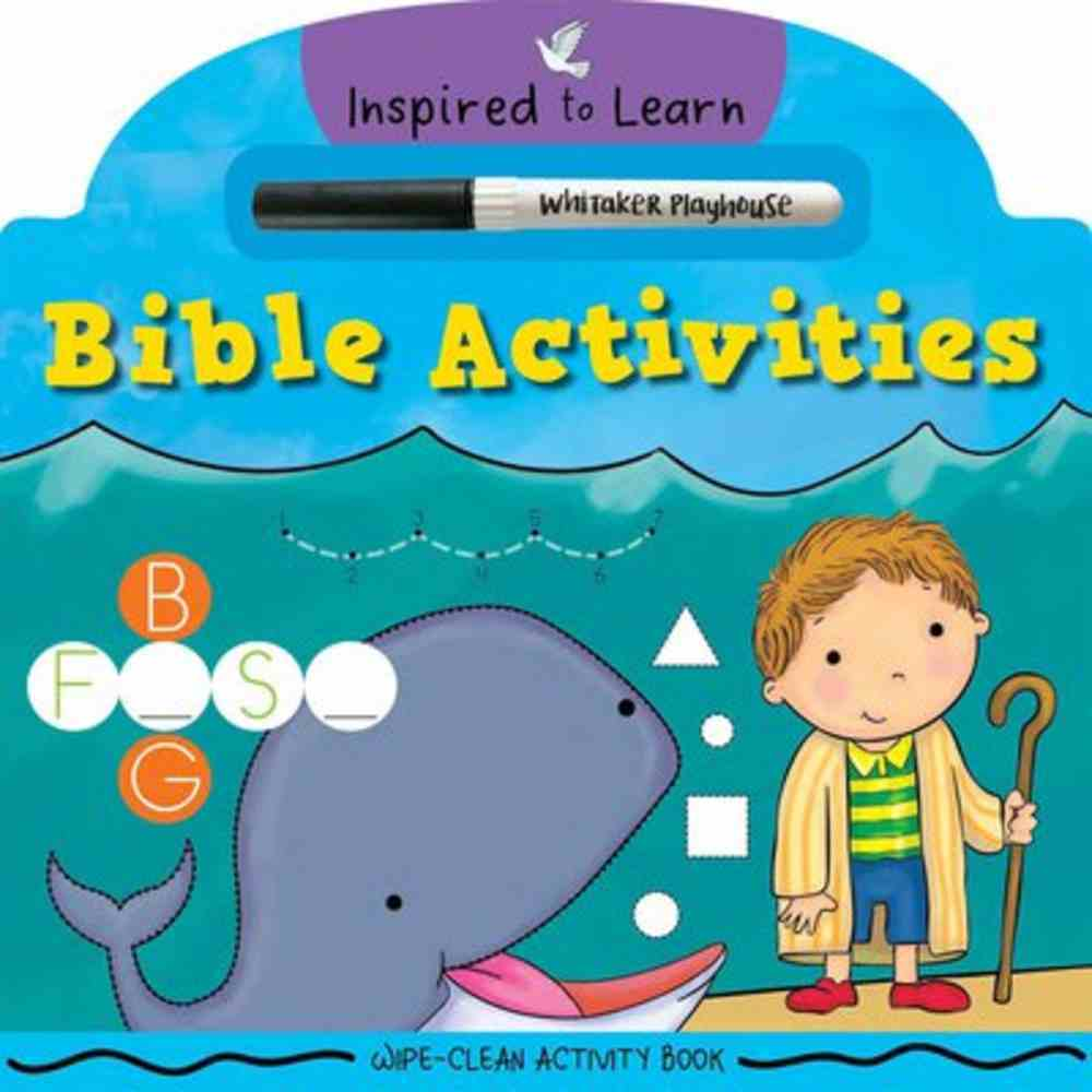 Bible Activities: Wipe-Clean Activity Book Board Book