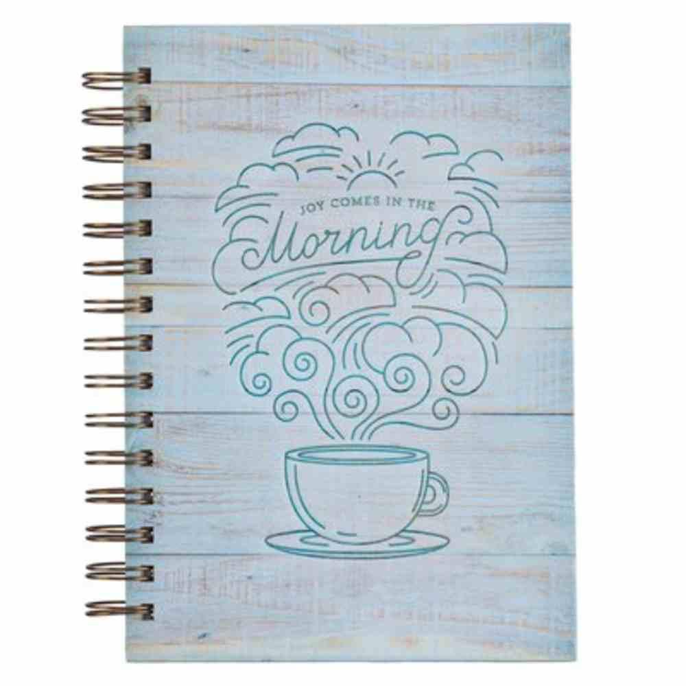 Journal: Joy in the Morning, Light Blue Spiral