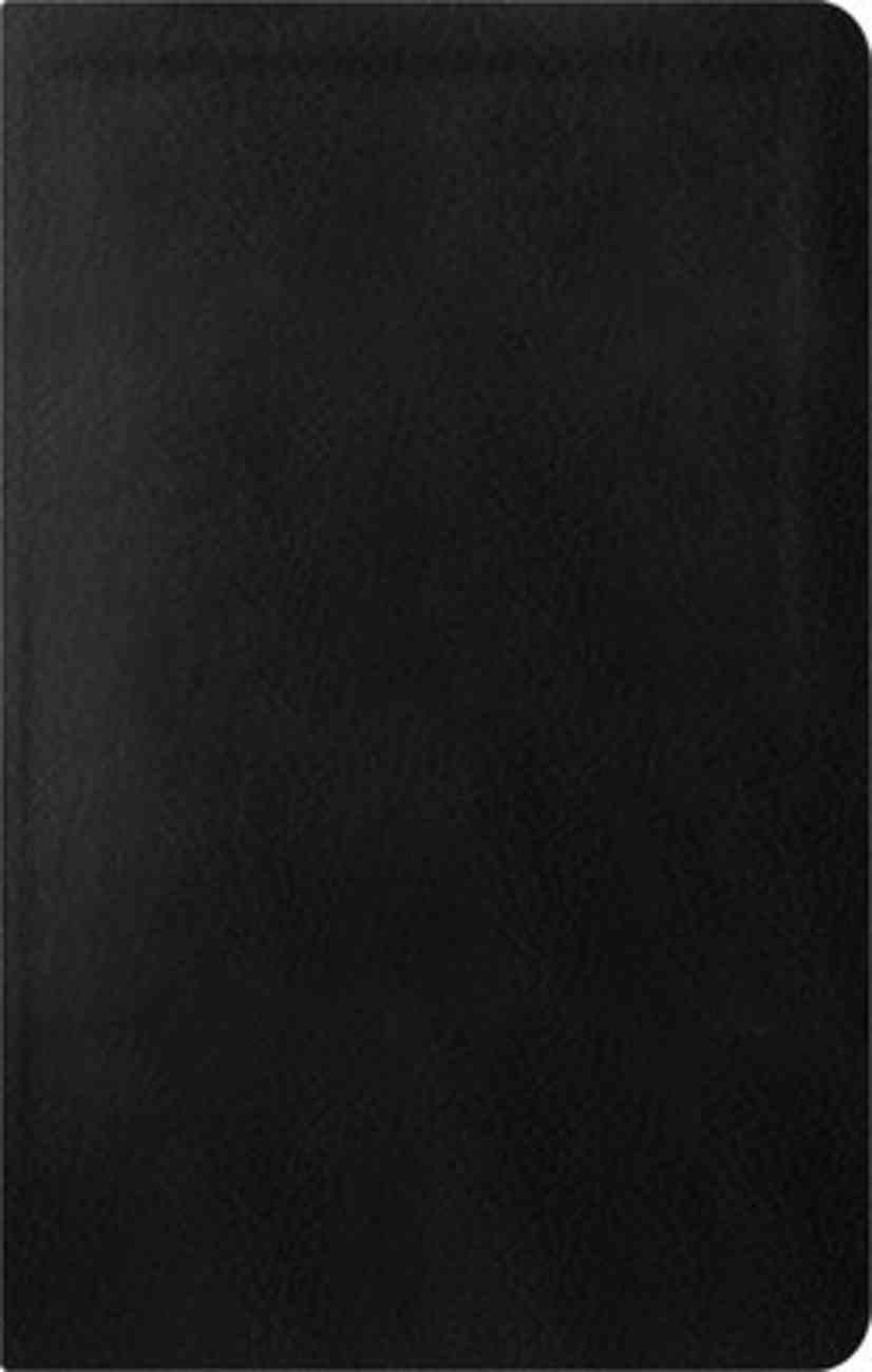 ESV Reformation Study Bible Condensed Edition Black Genuine Leather