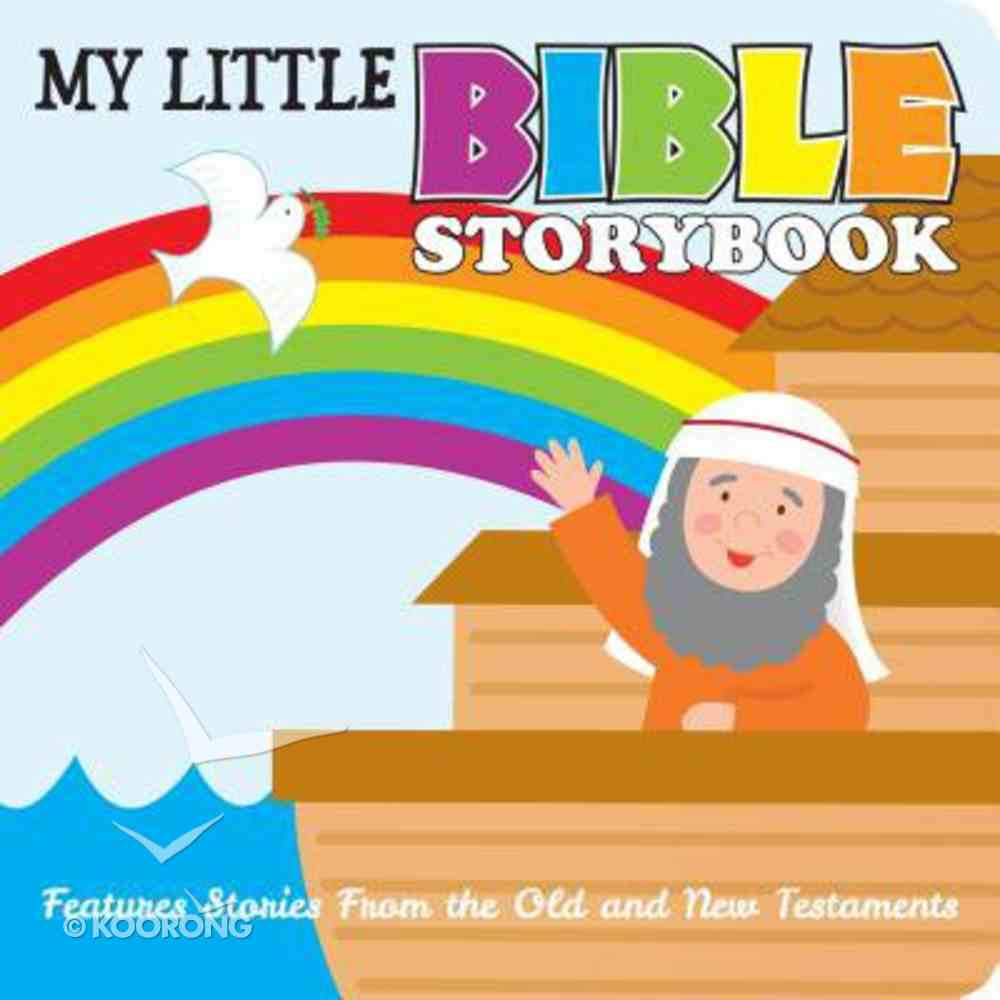 My Little Bible Storybook Board Book