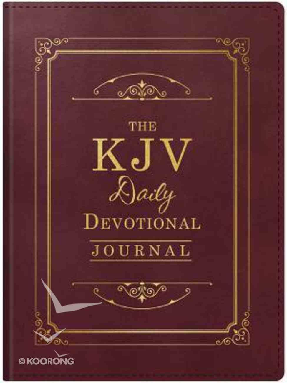 The KJV Daily Devotional Journal Paperback