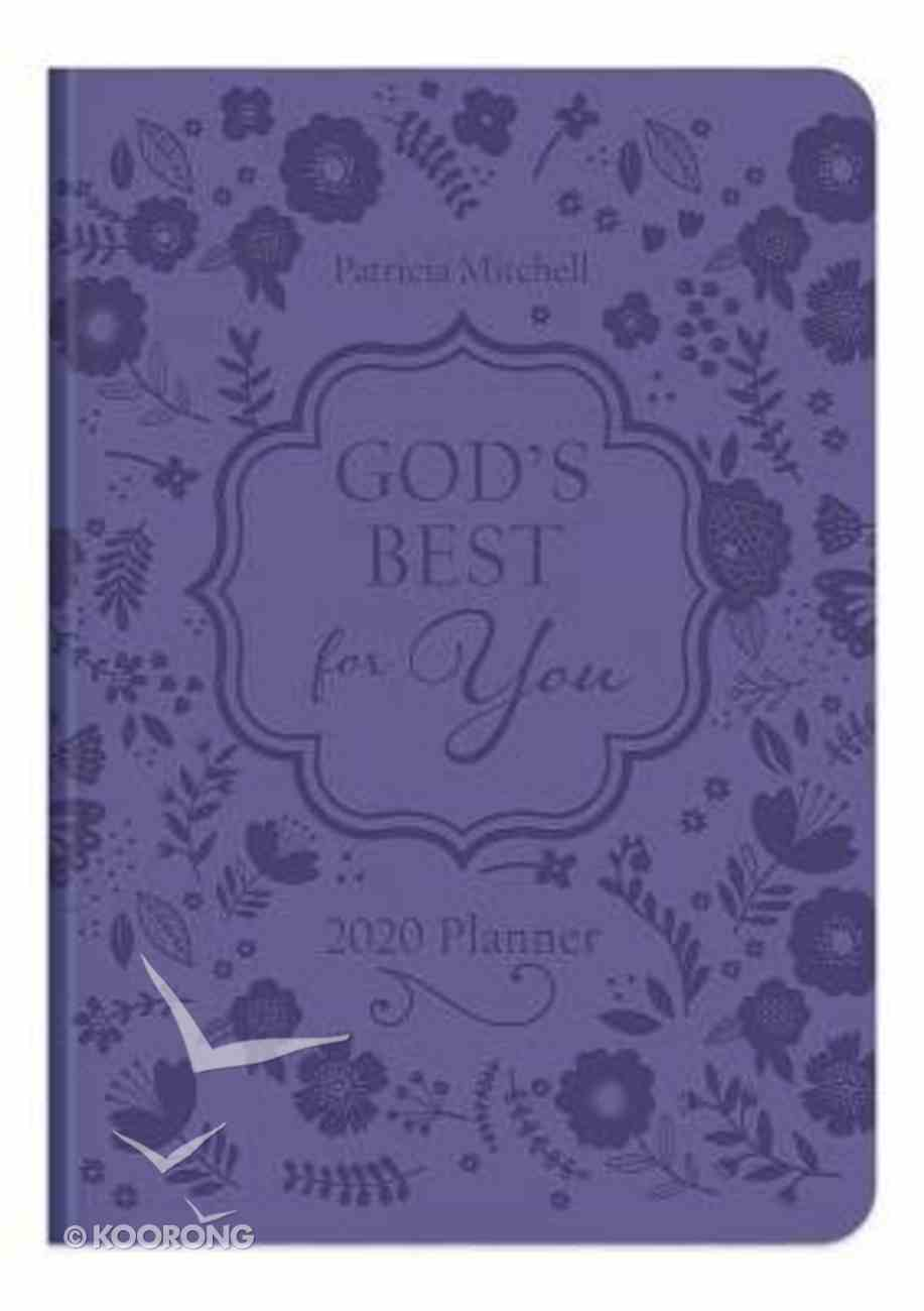 2020 17-Month Diary/Planner: God's Best For You Imitation Leather