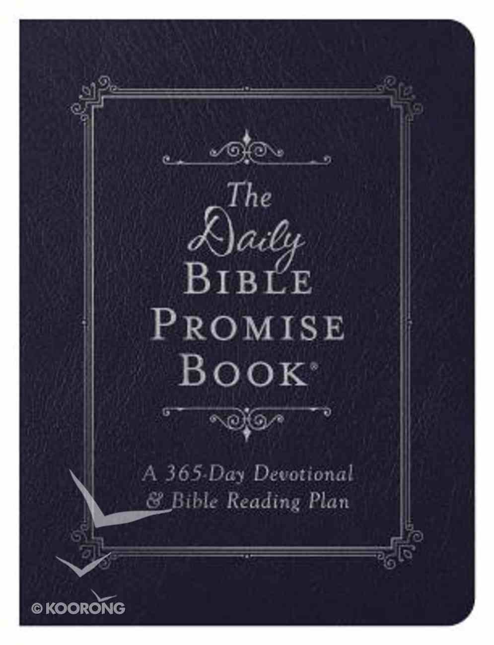 The Daily Bible Promise Book: A 365-Day Devotional and Bible Reading Plan Imitation Leather