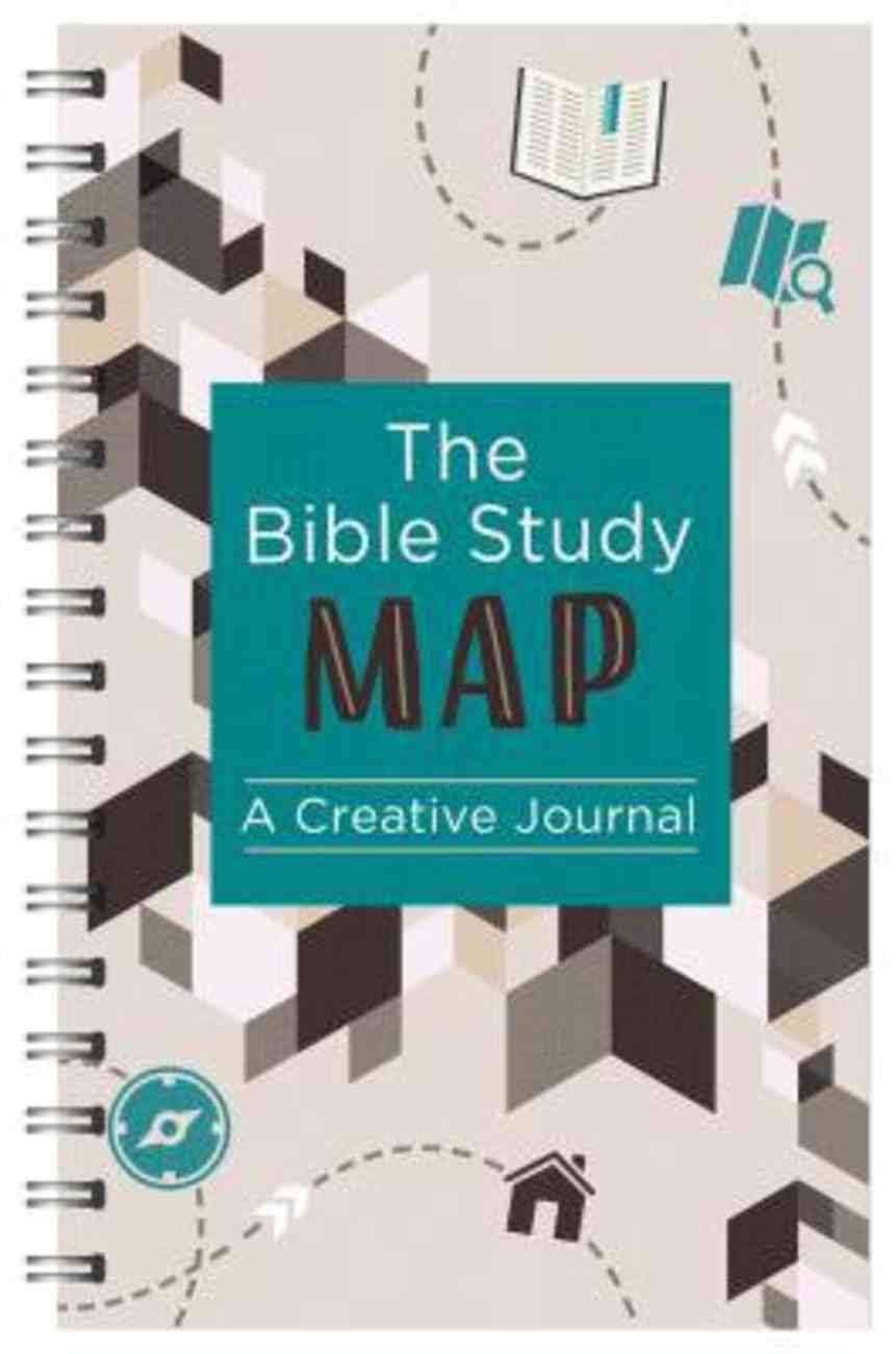Journal: Bible Study Map, the - a Creative Journal Spiral