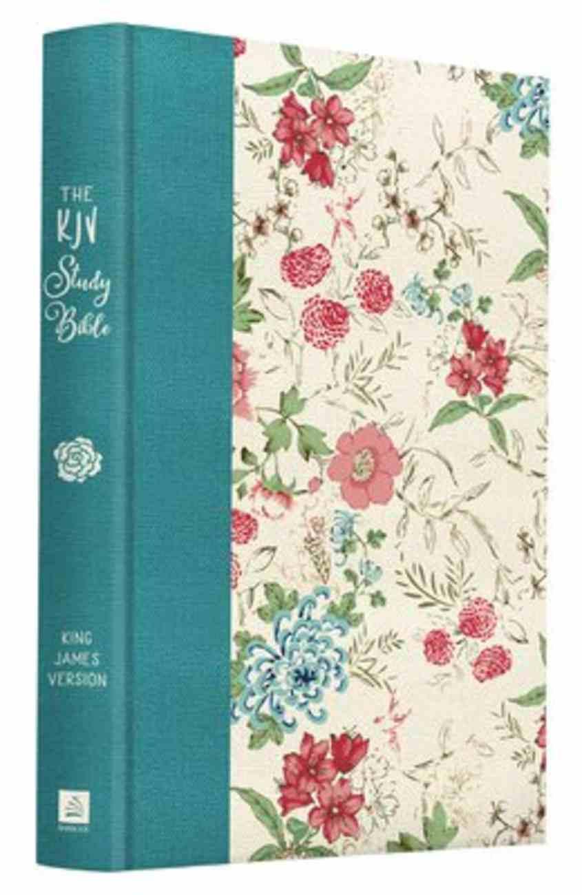 KJV Study Bible Floral (Red Letter Edition) Paperback