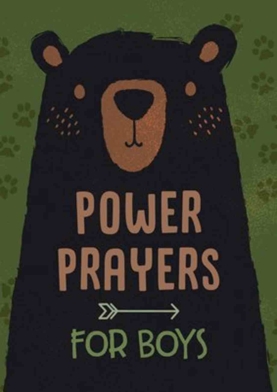 Power Prayers For Boys Paperback