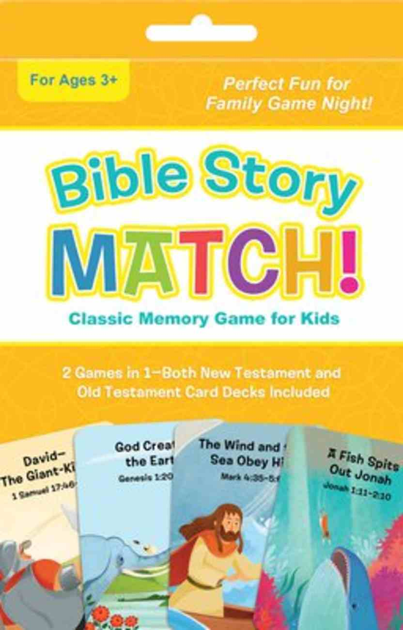 Bible Story Match!: Classic Memory Game For Kids Game