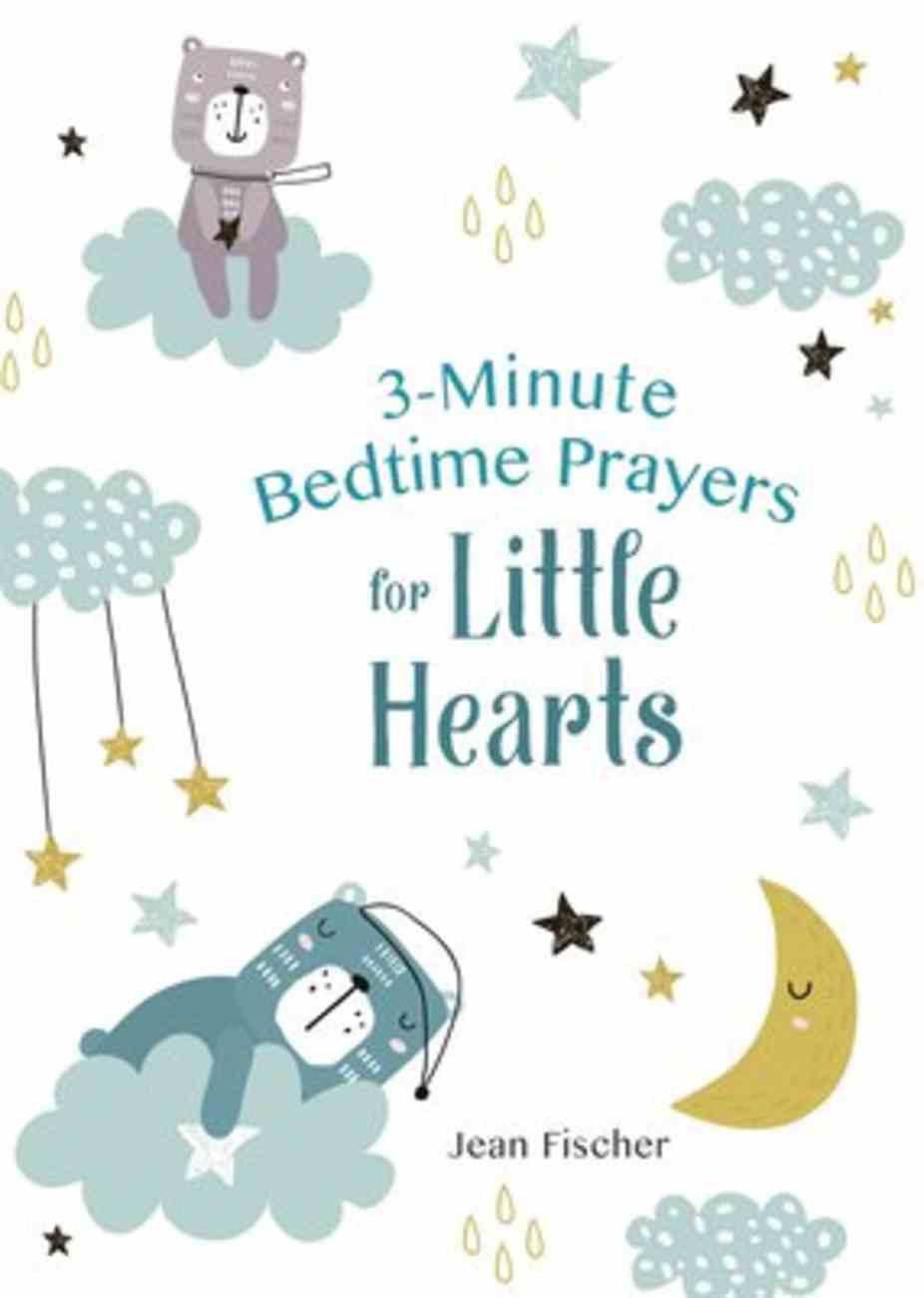 3-Minute Bedtime Prayers For Little Hearts Paperback