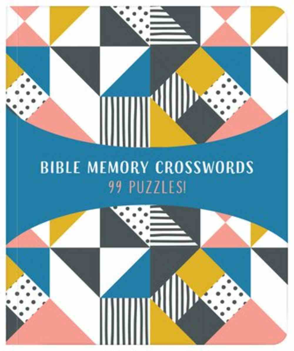 Bible Memory Crosswords: 99 Puzzles! Paperback