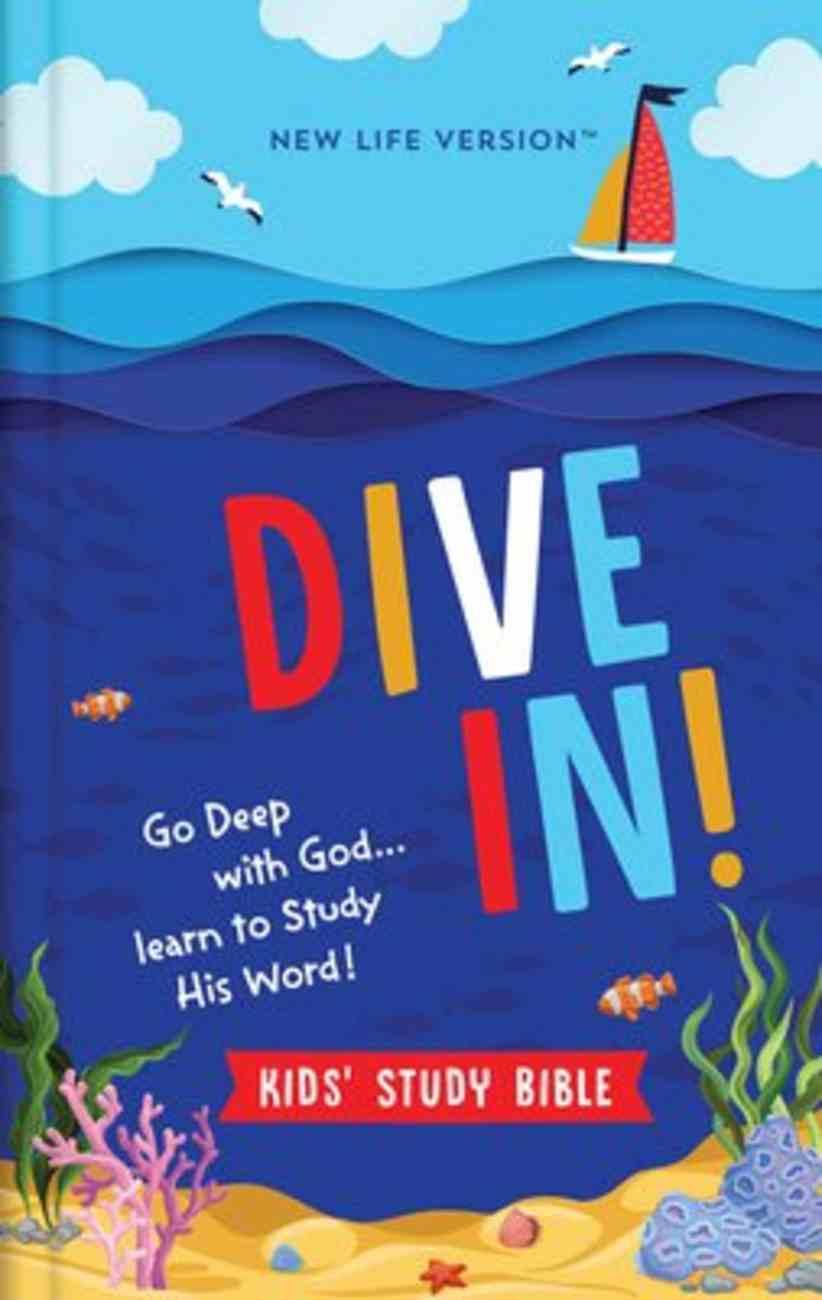 Nlv Dive In! Kids' Study Bible Hardback