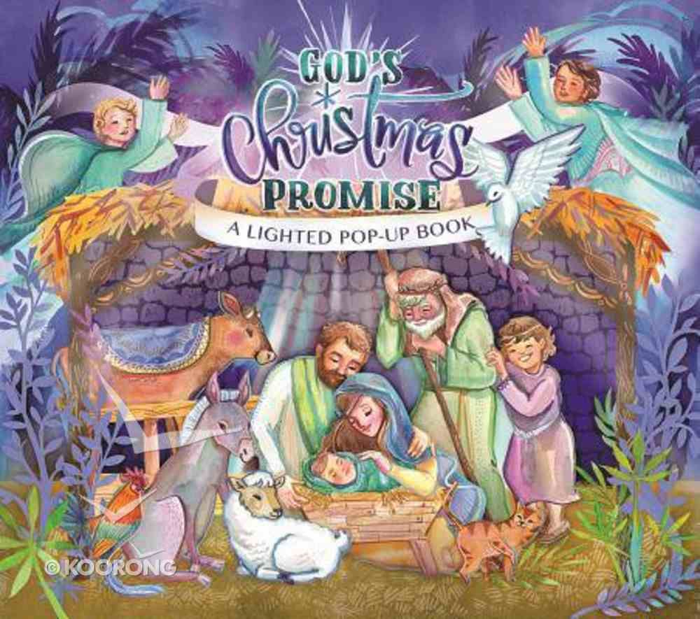 God's Christmas Promise: A Lighted Pop-Up Book Paperback