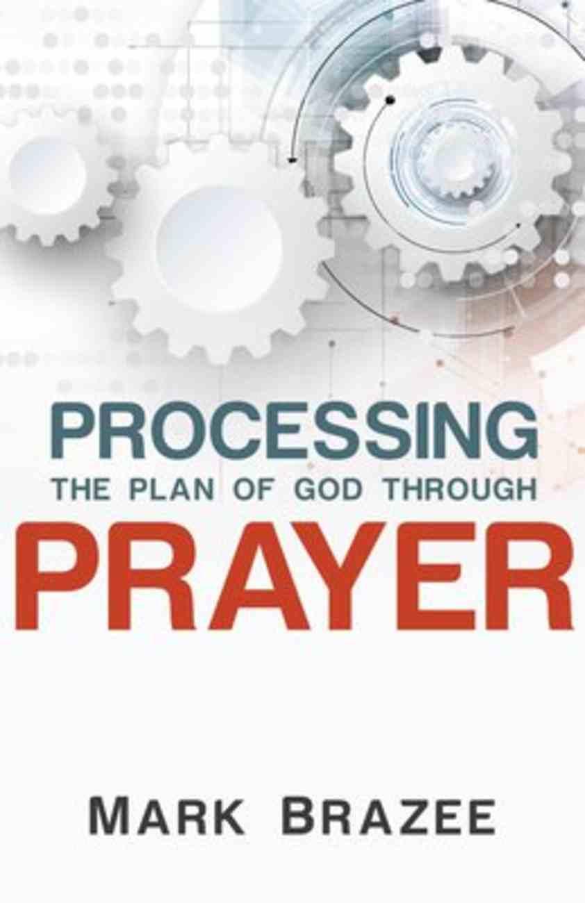 Processing the Plan of God Through Prayer Paperback