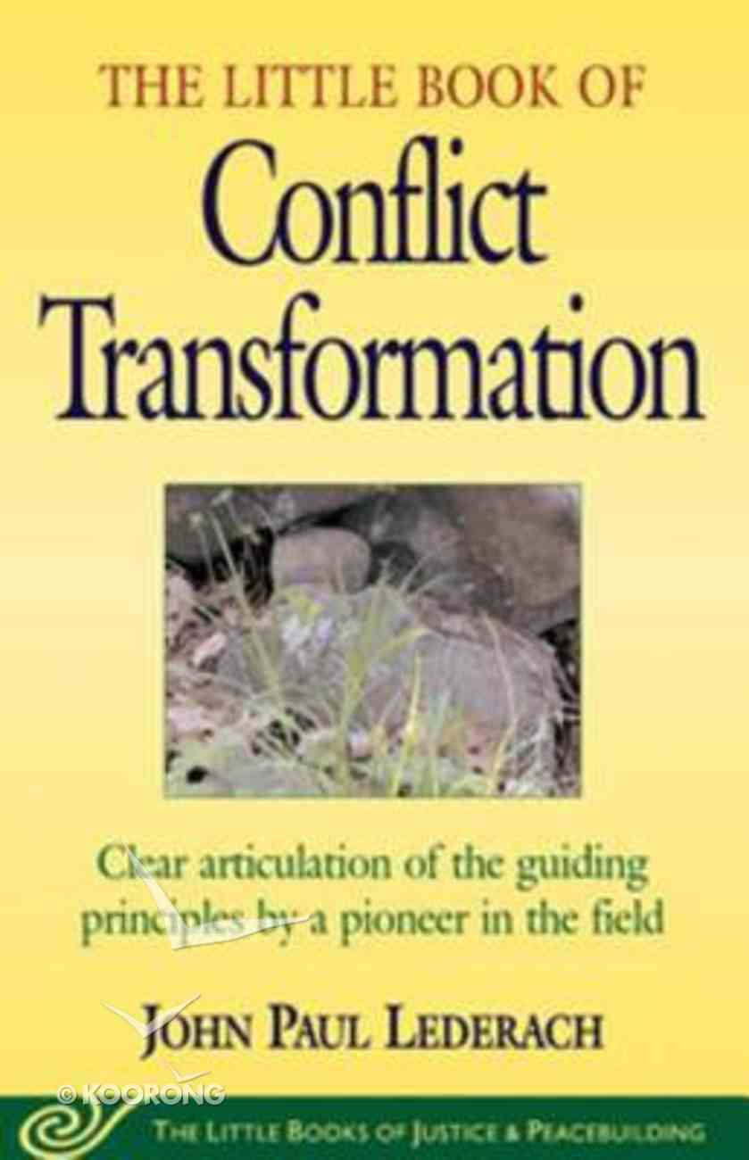 Little Book of Conflict Transformation eBook