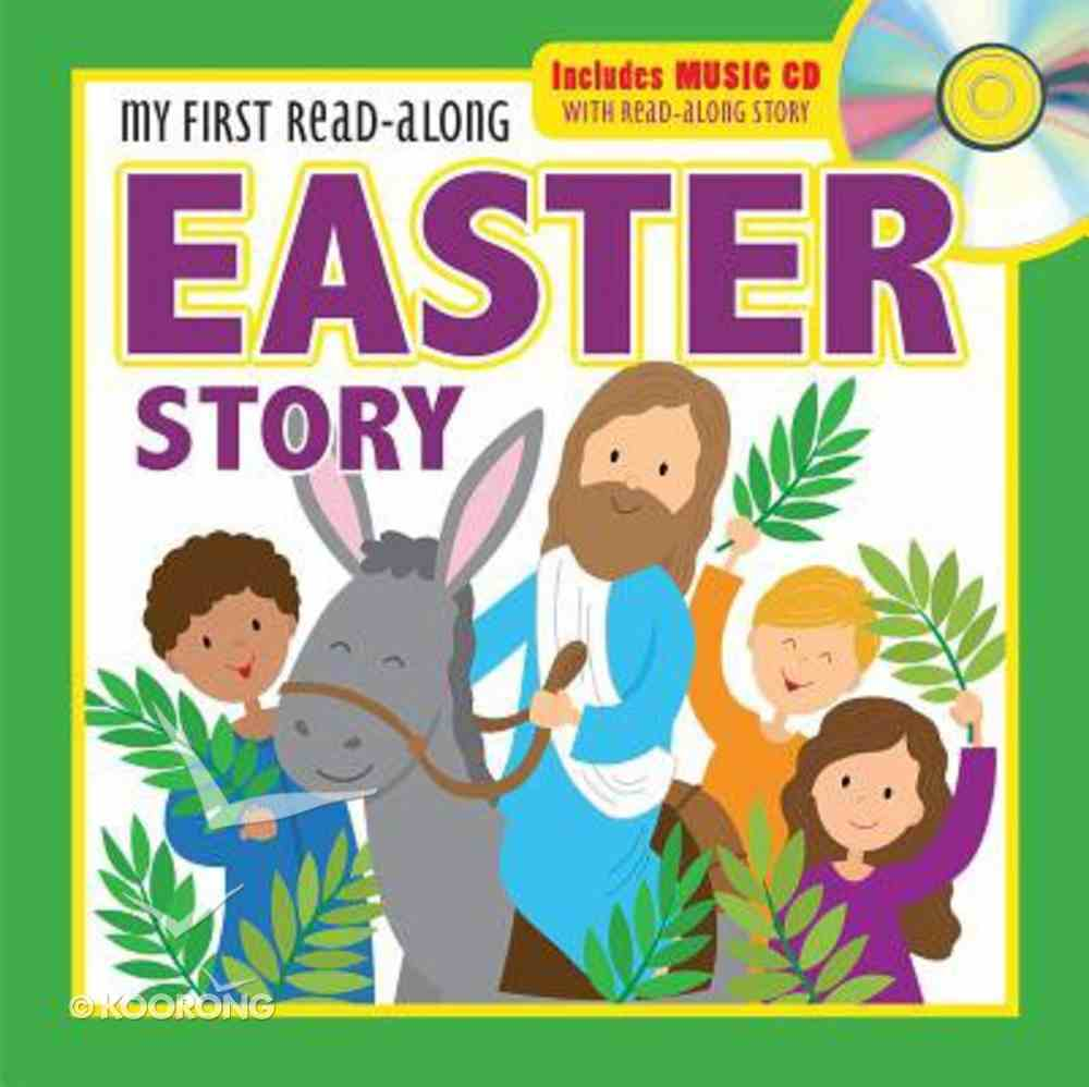 My First Read-Along Easter Story: Includes Music CD With Read-Along Story Board Book
