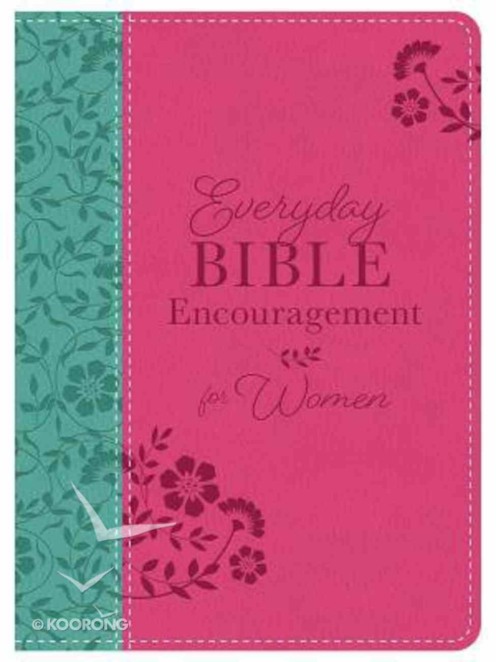 Everyday Bible Encouragement For Women Imitation Leather